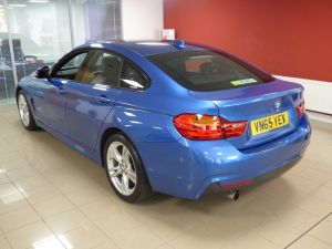 BMW 4 SERIES 418D M SPORT GRAN COUPE - 5252 - 37