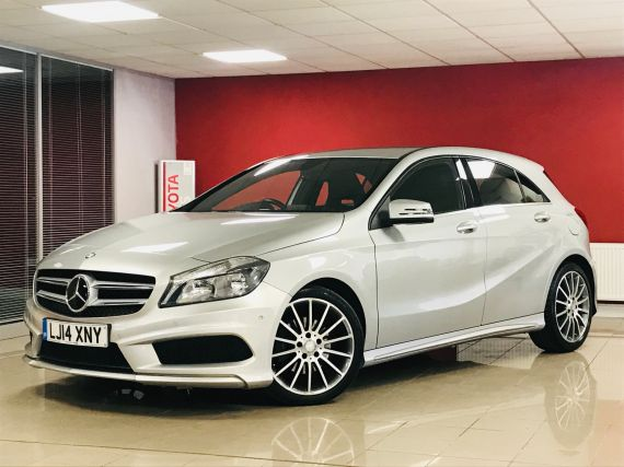 Used MERCEDES A-CLASS in Aberdare for sale
