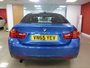 BMW 4 SERIES 418D M SPORT GRAN COUPE - 5252 - 36